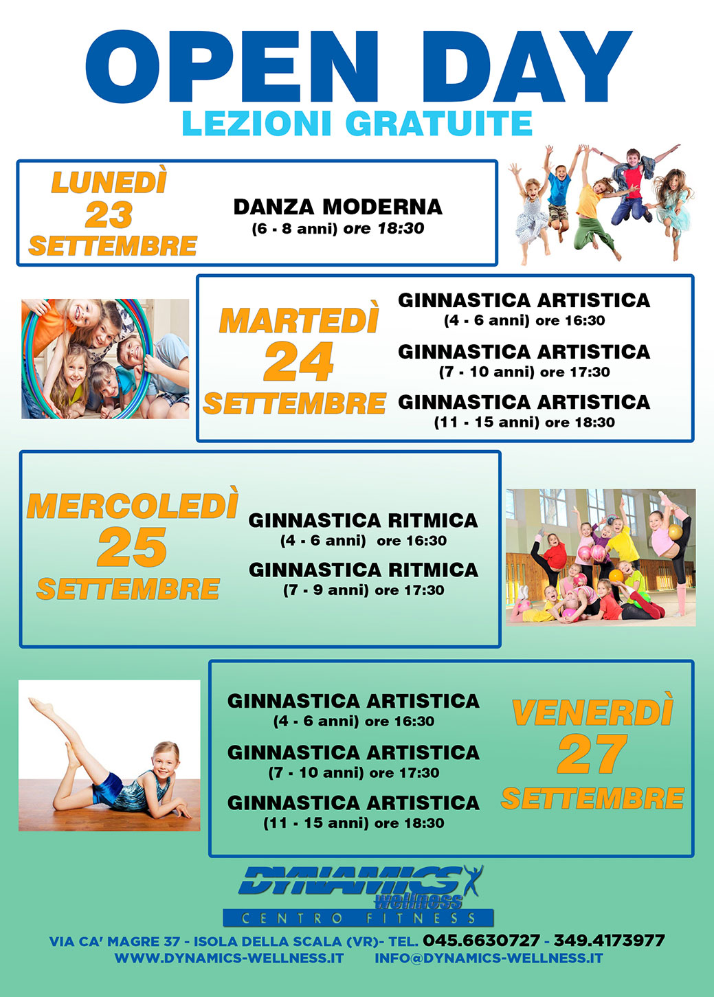 Dynamics Isola Della Scala centro benessere verona isola della scala, palestra fitness